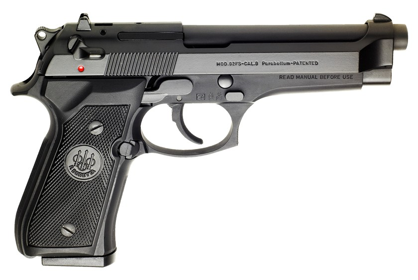 Beretta 92FS - best 9mm handgun
