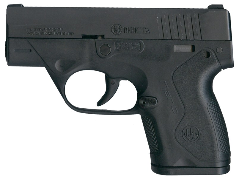 Beretta Nano Full Left View