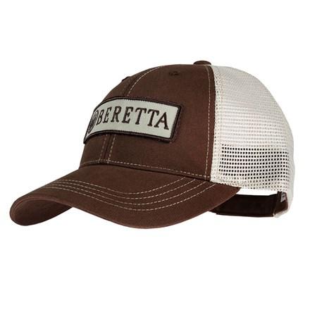 c1792405514 Beretta Patch Trucker Hat - Oar   Stone