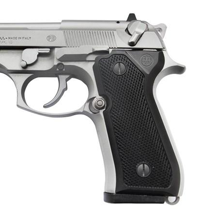 Beretta 92/96 Series Aluminum Checkered Grips w/ Trident Logo
