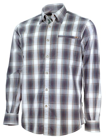 LU033T1533_081P_L_BERETTA_HUNTING_SHIRT_LS_BROWN_CHECK_FRONT