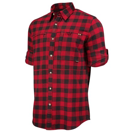 LU063T1861030P_WoodFlannelOvershirt_RedCheck_ROLLED_square