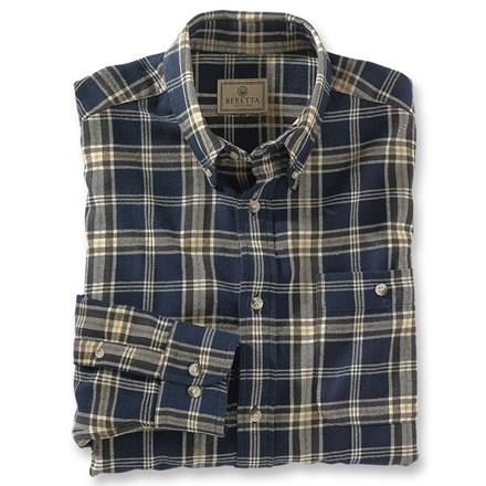 Beretta hefty flannel shirt for 9 oz flannel shirt