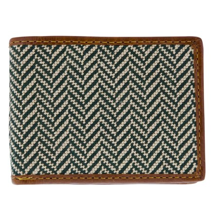 Needlepoint-Wallet_Small_Green_FRONT_square