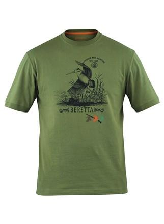 Beretta Woodcock T - Shirt. TS6272380727_FRONT