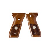 Premium wood grips for beretta 92