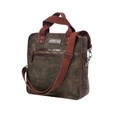 Camouflage Wax Canvas Unisex Bag
