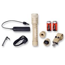 OV-2 LED Tactical Flashlight Package (Desert Tan)