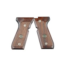 Beretta 92/96 Series Standard Wood Grips w/ Medallion