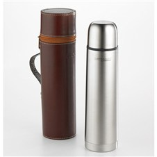 Thermos w/Leather Case