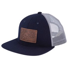 Hats & Caps: Engraved Patch Flat Bill Trucker
