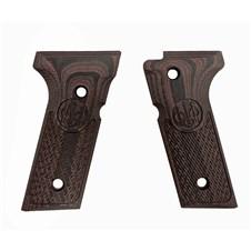 Beretta 92X Full Size G10 Grips -Black Cherry