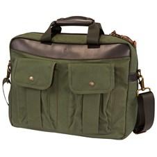 Beretta Green Waxwear Briefcase