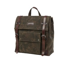 Camouflage Wsx Canvas and Leather Backpack
