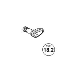 Beretta APX BUTTON MAGAZINE RELEASE 9mm (18.2)