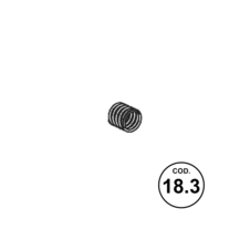 Beretta APX SPRING MAGAZINE RELEASE 9mm (18.3)
