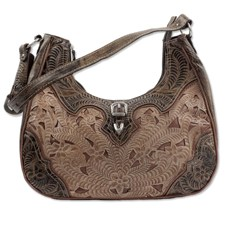 Women's Conceal Carry Purse - Tan Leather