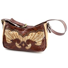Women's Conceal Carry Purse - Brown Leather