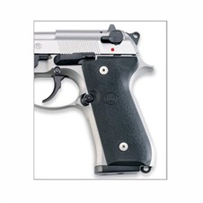 Beretta 92/96 Series Black Thin Rubber Grips