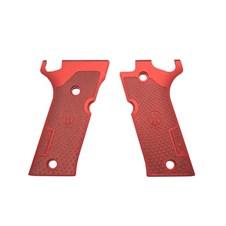 Beretta 92X Performance Match Aluminum Grips - Red