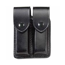 Beretta Double Leather Magazine Pouch W/ Flap