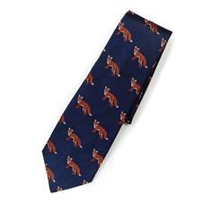 Beretta Fox pattern Silk Tie