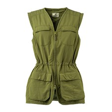 Beretta Women's Quick Dry Vest - Avocado