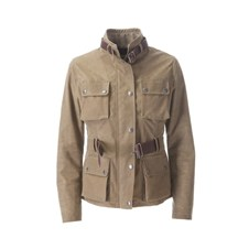 Beretta Women's Summer Waxed Cotton Field Jacket - Flat Earth