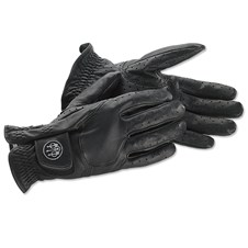 Beretta Black Leather Gloves