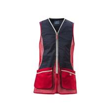 Beretta New Silver Pigeon Vest - Red & Navy