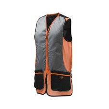 Beretta New Silver Pigeon Vest - Orange & Black