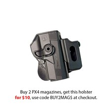 Beretta Holster for PX4 Full Size w/ magazine pouch