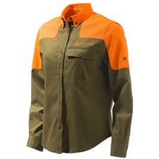 Women's TM Field Shirt - Tobacco/Orange Blaze