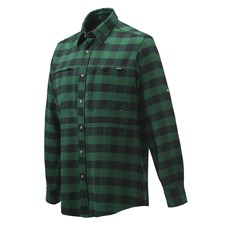 Wood Flannel Over-Shirt