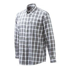 Beretta Classic Shirt - White & Blue Check
