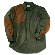 Beretta Upland Heavy-Duty 100% Canvas Cordura Overlay Shooting Shirt