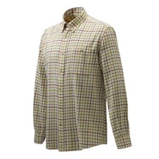 Beretta Wood Flannel Button-Down Shirt