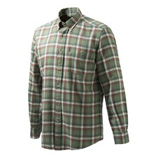 Beretta Flannel Shirt - Green Check