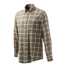 Beretta Flannel Shirt - Orange Plaid