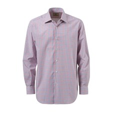 Beretta Man's Plain Collar Vintage Shirt