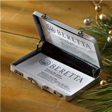 Beretta Metal Briefcase Card Holder