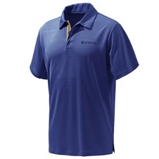 Beretta US Tech Polo - Beretta Blue