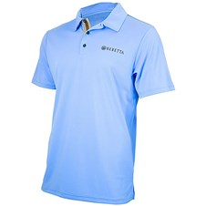 Beretta US Tech Polo - Light Blue