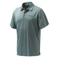 Beretta US Tech Polo - Grey Castlerock