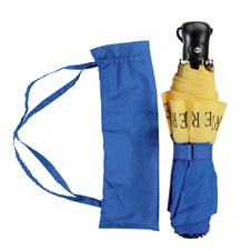 Beretta Packable Umbrella Blue & Yellow