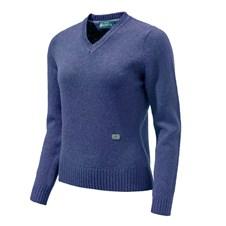 Beretta Pheasant V Neck Sweater Woman
