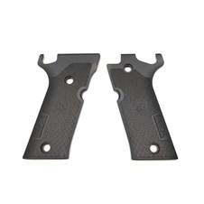 Beretta 92X Performance Match Aluminum Grips - Black