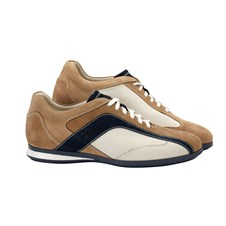 Beretta Uniform Leather Beige Navy