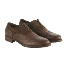 Beretta Fullgrain & Suede Leather Shoes