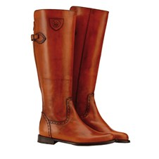 Beretta Chestnut High Boots